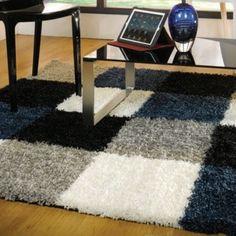 Covor Andes Blue/Grey, 160x230 cm