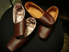 The Oregon Regency Society ~ Northwest Chapter: Miss Charlotte's Shoe Tutorial