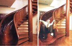 Why aren't all stair cases like this?!?!
