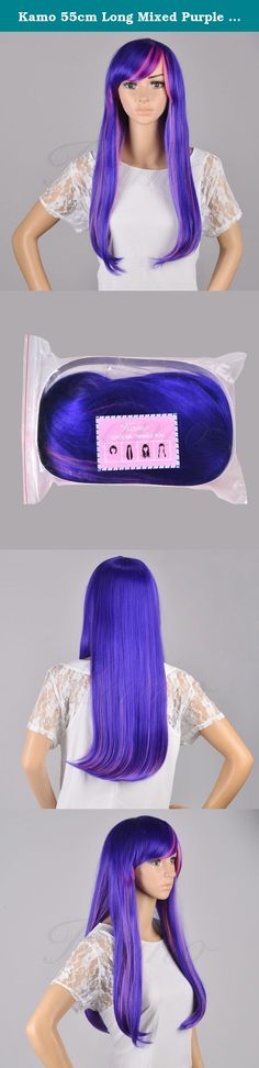 Kamo 55cm Long Mixed Purple / Pink My Little Pony Twilight Sparkle Straight Cosplay Wig. Specifications: *Hair material: High-temperature Synthetic fiber *Color: Mixed purple / pink *length: 55cm/21.65inch *Weight: 350g *Style: Straight Package Included: 1X Kamo 55cm Long Mixed Purple / Pink Cosplay Wig Please kindly note: The standard delivery time in our kamo store is about 3-5 business days Providing the best product quality and customer service is what we kamo keeps to. We appreciate…