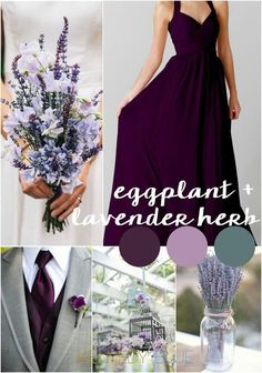 Violet wedding ideas