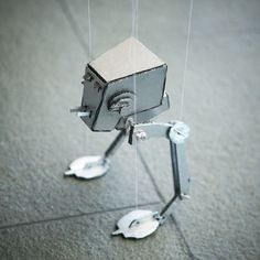 SO FUN! Marionette AT-ST from Star Wars Free Printable
