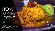 How to Make Locrio de Salami | Dominican Style Jambalaya
