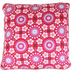 Pip Studio Tiles Red Cushion; $100.00