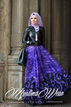 Muslima Wear 2016 Viola Skirt