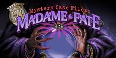 Madame Fate™, a mysterious fortune teller, has foreseen her own demise at midnight this very day. Take on the role of the Master Detective once again, in the fourth Mystery Case Files game, and help in investigating each quirky carnival worker to determine their whereabouts at midnight. #mysterycasefiles, #MadameFate