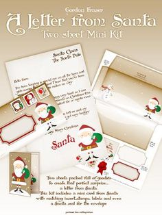 The perfect surprise for the little ones a letter from Santa