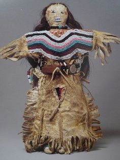 Ralph T.Coe Collection of American Indian Art | Nomadic Songlines This native doll comes from the Blackfoot people of northern Montana, it dates back to the 19th century.