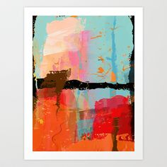 The bridge Art Print by Andreas Wemmje - $18.72