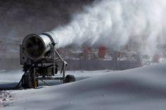 Making snow at Afriski Mountain resort