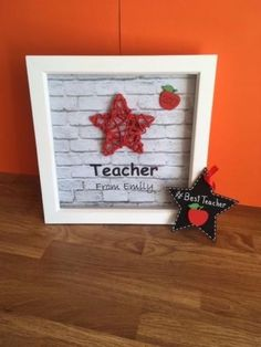 Personalised-Star-Teacher-Childminder-Teaching-Assistant-etc-Frame-Endofterm
