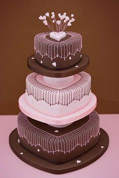 Sunday Sweets: Be My Valentine — Cake Wrecks Gorgeous Cakes, Pretty Cakes, Cute Cakes, Amazing Cakes, Take The Cake, Love Cake, Unique Cakes, Creative Cakes, Simple Cakes