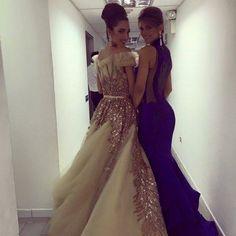 Mariana Jimenez Miss Venezuela 2014 y Edymar Martinez Miss Venezuela Internacional listas para entregar sus titulos a sus Sucesoras en el Miss Venezuela 2015..