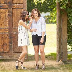 That dress! Friends who Fix together, stick together. Tag a friend who loves Stitch Fix as much as you do. Cute Outfits With Shorts, Short Outfits, Girl Outfits, Summer Fashion Outfits, Spring Summer Fashion, Lace Up Espadrilles Flats, Warm Weather Outfits, Stitch Fix Outfits, Look Cool