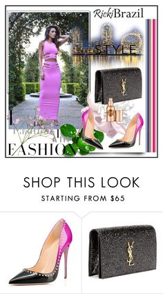 """""""Ricki Brazil"""" by lip-balm ❤ liked on Polyvore featuring Yves Saint Laurent, Hoola and rickibrazil"""