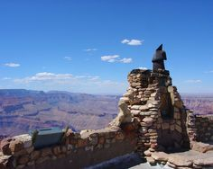 Rooftop Chimney - Overlook Tower, Grand Canyon, AZ
