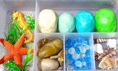 Ocean Sensory Play Kit Sensory Play, Jars, Ocean, Kit, Handmade Gifts, Nature, Etsy, Kid Craft Gifts, Naturaleza