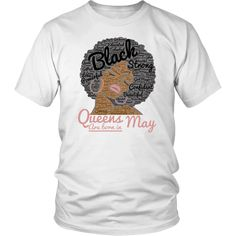 8d957bbd3 80 Best Queens Are Born In April T-Shirt images | Born in april, Age ...