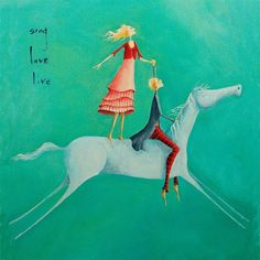 Sing, Love, Live by Crispin Korschen Horse Art, Art Lessons, Fine Art, Illustration, Painting, Naive Illustration, Art, Texture Painting, Art Website
