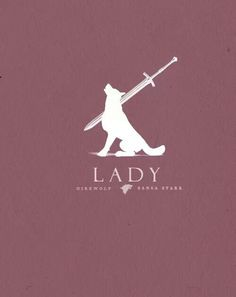 Direwolf posters #Lady #GameofThrones