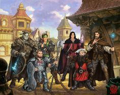 Adventurers of the Realms High Fantasy, Fantasy Rpg, Fantasy World, Dnd Characters, Fantasy Characters, Character Portraits, Character Art, Character Inspiration, Adventure Style
