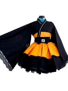 Costume ideas 790452172084517924 - Naruto – Uzumaki Naruto Costume de Cosplay Trans-sexuel en Version Kimono Robe Lolita Halloween 2019 Source by uguetselena Naruto Cosplay Costumes, Cosplay Dress, Anime Costumes, Cosplay Outfits, Girl Costumes, Costumes For Women, Anime Outfits, Blue Costumes, Sasuke Cosplay