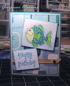 "'Me' Time **** SU ""Fish Friends"", retired.  So cute & colorful."