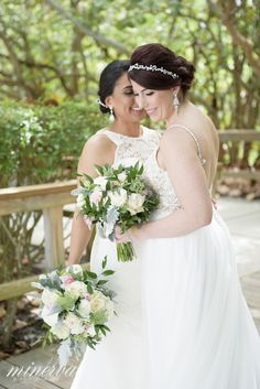 lgbt same sex wedding with english garden style bouquets. Lifestyle Photography, Wedding Photography, Boca Raton Florida, Lgbt Wedding, Fort Lauderdale, Garden Styles, Naples, A Boutique, Palm Beach