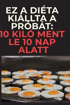 Ez a diéta kiállta a próbát: 10 kiló ment le 10 nap alatt - szupertanácsok Healthy Drinks, Food And Drink, Health Fitness, Workout, Breakfast, Sport, Morning Coffee, Work Outs, Sports