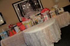 So many nice things all for this new little princess.