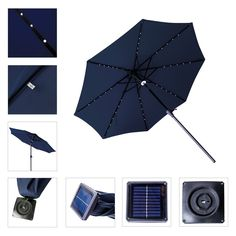 Home Cooperative Super Bright Patio Umbrella Light Cordless 36 Led Umbrella Pole Light For Camping Tents Or Outdoor Use