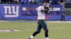 Eagles vs. Giants:  28-23, Giants  -  November 6, 2016  -    Philadelphia Eagles quarterback Carson Wentz (11) walks off the field after failing to convert on 4th down and 10 agains the New York Giants during the fourth quarter of an NFL football game, Sunday, Nov. 6, 2016, in East Rutherford, N.J. The Giants won 28-23.