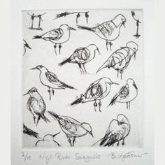 Makes me want to get out my drypoint needle...