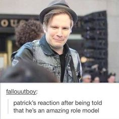 Patrick Stump = Music's equivalent of Martin Freeman << more like the Tom Hiddleston <--- Repinning for that genius comment!!! XD