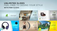 Unlimited Slides — AE Template #fashion #property • See it in action → https://videohive.net/item/unlimited-slides/7963367?ref=pxcr