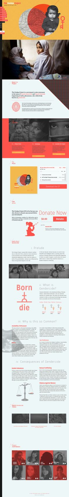 Pushpa Project Website — Designspiration