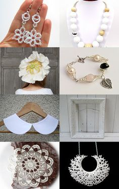 delicate white by Gosia on Etsy--Pinned with TreasuryPin.com