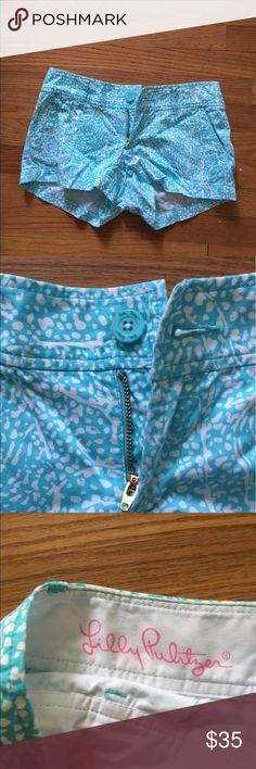 Lilly pulitzer shorts patterned shorts Lilly Pulitzer Shorts