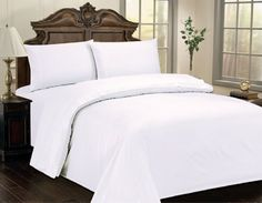 400 thread count sheet sets are luxurious Cotton Sateen. set contains a sheet, fitted sheet that will fit a mattress up to and two pil. Percale Sheets, Bed Sheets, King Sheet Sets, Flat Sheets, Fitted Sheets, Queen Size, King Size, Bedding Collections