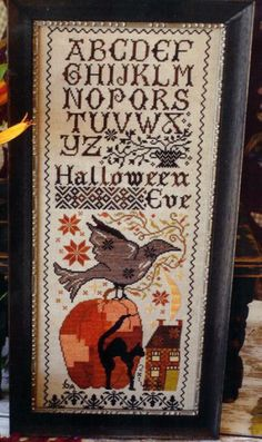 I just really like this - Halloween sampler