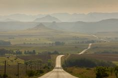 Road to Clarens, South Africa by Sylvain Oliveira on 500px