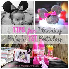 Tips for Planning Baby First Birthday