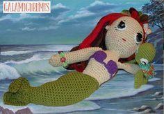 Patrón de Ariel, La Sirenita.