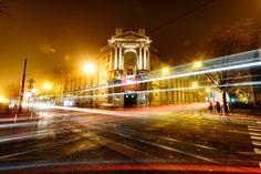 Zagreb by Night - A long exposure of Zagreb, Croatia