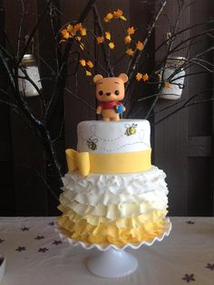 Looking for cake decorating project inspiration? Check out Winnie the Pooh cake by member Lola Marti Cake.