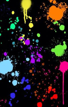 Painting wallpaper iphone splatter 68 New Ideas - paint and art Colourful Wallpaper Iphone, Color Wallpaper Iphone, Rainbow Wallpaper, Pattern Wallpaper, Wallpaper Backgrounds, Girl Wallpaper, Disney Wallpaper, Wallpaper Quotes, Neon Painting