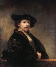 Artesplorando: Autoritratto con camicia ricamata, Rembrandt