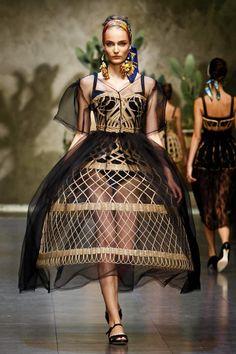 Dolce & Gabbana Fashion Show, Spring/Summer 2013
