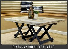 @Alicia Gosnell-Reclaimed Barn Wood Coffee Table (can't remember if you had one already)