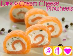 Lox (smoked salmon) & Cream cheese pinwheels - keto & primal friendly appetizers